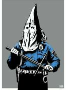 By Street Artist Goin Kkkop Cop Print Art 27.6andprimex19.7andprime Signed Not Banksy Sold Out