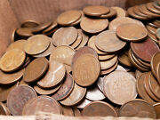Lincoln Wheat Pennies 1909-1958 Cent Penny -- 2,000 Copper Wheat Pennies