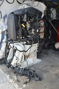 Clean Used 2007 150 Hp Etec 20 Inch Complete Outboard 140lbs On All 6 Cylinders