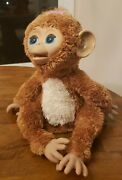 Hasbro Furreal Friends Cuddles My Giggly Monkey Interactive Pet 2012 Works Great