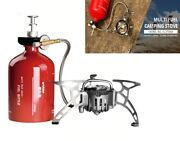 Camping Oil Gas Gasoline Multi-use Stove 1000ml Camping Hiking Cooking Equipment