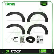 Fender Flares Pocket Style Fits 1999-2007 Ford F250 F350 Super Duty Pp Textured