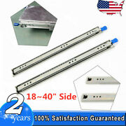 Side Mount Full Extension Ball Bearing Drawer Slides 18 To 40 High-quality