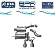 Corsa 304 Ss Cat-back Exhaust System With Dual Rear Exit For Golf 10-11/14 14496