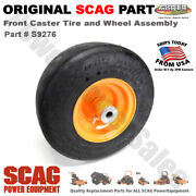 Scag Flat Free Front Caster Tire And Wheel Assembly - Fits Z Cat Mowers / S9276