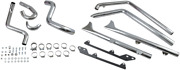 Bassani Fishtail True Dual Exhaust System Without Baffles - 1s26e-30 - 18001669