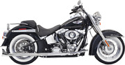 Bassani Fishtail True Dual Exhaust System Without Baffles - 1s46e-30 - 18001736