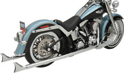 Bassani Fishtail True Dual Exhaust System Without Baffles - 1s46e-36 - 18001738