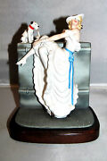 Louis Icart Figurine 1936 Au Bar 1984 Art Deco 1016 Of 7500 Missing Chair