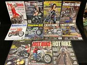 Vintage Motorcycle Magazines, Assorted Lot Of 11