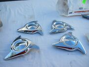 Used Very Rare 1963 Pontiac Full Size Cars Spinners Set Of 4 And Hardware