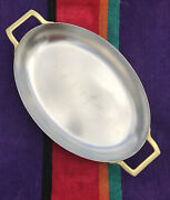 Paul Revere 1776 1976 Limited Edition Copper Stainless Steel Oval Skillet Pan