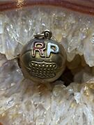 Antique 10k Yellow Gold And Enamel Championship Ball Charm From 1925
