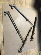 Vintage 1940's 1950's Chevrolet Truck Accessory Towing Mirror Brackets