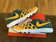 Nike Train Speed 4 Amp Nfl Green Bay Packers Size 12 New Ds 848587 706