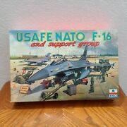Esci Ertl Usafe Nato F-16 And Support Group 148 Model Kit Sealed In Box