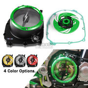 Green Clear Clutch Cover Spring Retainer Ring For Kawasaki Z900 Z900rs 2018-2021