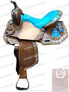 Outdoor Sports Western Barrel Saddles And Tack With Free Matching Set.