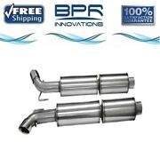Corsa 304 Ss Cat-back Exhaust System With Split Side Exit For Viper 03-10 14176