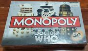 Dr Who Monopoly 50th Anniversary Collector's Edition