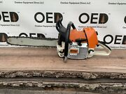 Stihl Ms460 Magnum Chainsaw - Strong Running 77cc Saw 18 Bar And Chain Ships Fast