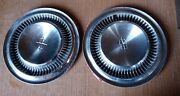 Two Oem1964-65 Lincoln Continental Premier Town Car Hubcaps Wheel Covers 16