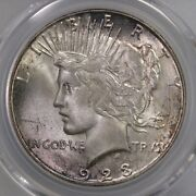 1923-s Peace 1 Pcgs Certified Ms64 San Francisco Minted Silver Dollar Coin