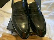 1300 Bontoni Loafers Shoes Hand Made In Italy Size Us 11 1/2 Eu 44 1/2