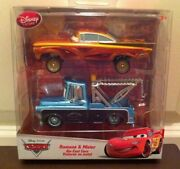 Disney Store Cars Special Paint Job Ramone And Mater Diecast 2 Pack Exclusives New