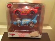 Disney Store Cars Hot Roddin Mcqueen And The King Diecast 2 Pack Exclusives New