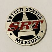 Sought After-unique-srt North Texas-us Marshal Challenge Coin