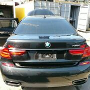 Trunk/hatch/tailgate With Surround View Fits 16-19 Bmw 740i 594814