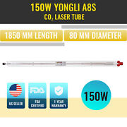 Omtech Yongli 150w A8s Co2 Laser Tube Dia 8cm Length 185cm For Co2 Laser Cutting