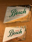 Two Bosch Brewing Co Houghton Mich. Beer Labels + 5 Bosch Foil Lined Bottlecaps