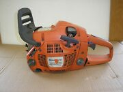 Husqvarna Rancher 455 Chainsaw / Power Head / For Parts Or Repair / Turns Over