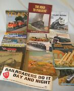 Lot Train Books /pictures Lionel Trains / Stations / Railroad Workers 1941 1st
