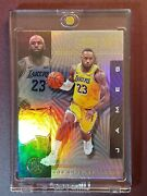2019-20 Illusions Holo Refractor Silver Lebron James 20 One Touch Included