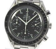 Omega Speedmaster 3510.50 Chronograph Black Dial Automatic Menand039s Watch_614294