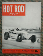 Hot Rod 1949 Track T Roadster 1940 Mercury Customs Barris Zaro Merc Flathead Vtg