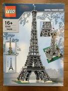 Lego Creator Eiffel Tower 10181 Large 1/300 Scale Models Buildings 3428pc 2007