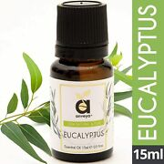 Anveya Eucalyptus Essential Oil, For Steam Inhalation, Diffuser, Cold, Cough