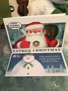 Pobjoy Mint 2018 Father Christmas 50p Christmas Card And Envelope New/sealed