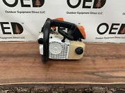 Stihl 020t Top-handle Arborist Chainsaw / Good Project Saw Read Ms200 Ships Fast