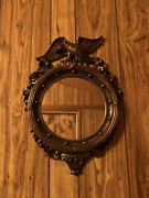 Vintage 1959 Dart Coppercraft Guild Made Usa Plastic Eagle Wall Mirror Mcm