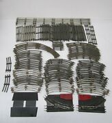 Lot 100+ Assorted O Scale Toy Model Train Tracks Straight And Curved Lionel K-line