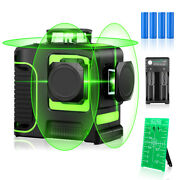 12 Lines Green Line 360 Horizontal And Vertical Cross Lines Laser Level Measure