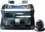 Ab5200 Accuguard By Accubanker Bill Counter W/dust Cover Protect Against Dust...