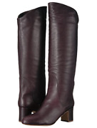 Splendid Nick Knee High Boots New In Box Deep Plum Color Size 9 Boot Womenand039s