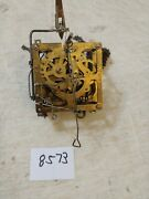 Henry Coehler Cuckoo Clock Movement And Wooden Bird And Chains
