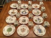 Royal Gallery All The Days Of Christmas Plates And Mugs Set Of 12 Each